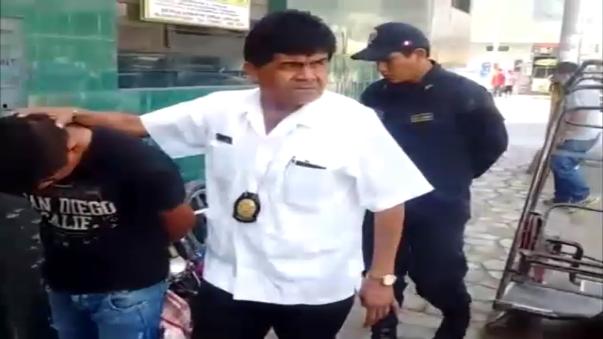 Menor detenido junto a motopartes al parecer de unidades robadas