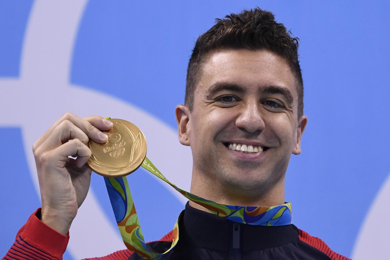 Anthony Ervin ganó la medalla de oro en 50 metros libres en Sidney 2000. Tenía 19 años.