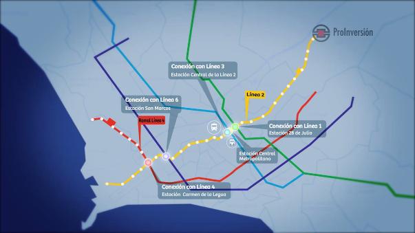 Todo lo que debes saber sobre la Línea 2 del Metro.