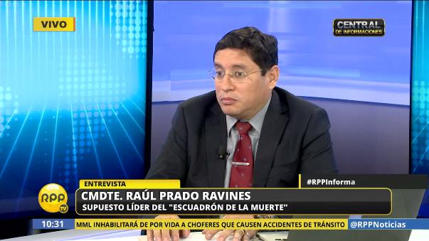 Raul Prado Ravines dice que todo inició cuando el SUAT mató a un policía que se había unido a delincuentes en un enfrentamiento.