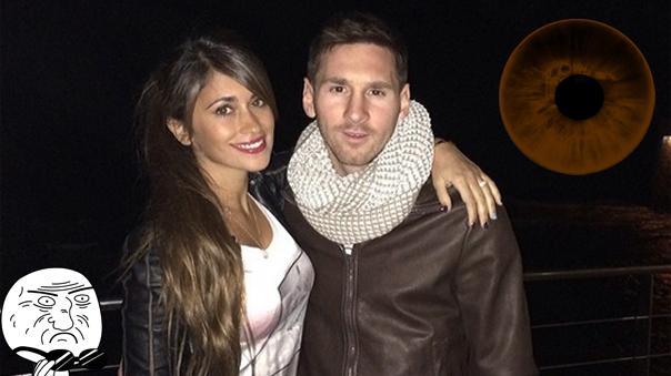 El jugador Lionel Messi sorprendió con un tatuaje en su brazo derecho.