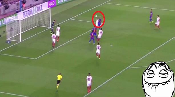 Barcelona 3-0 Sevilla.
