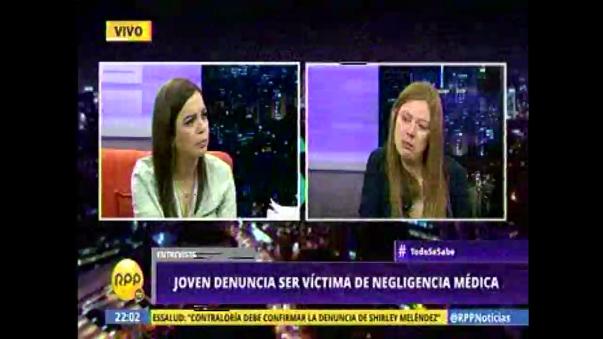 La joven le dejó un mensaje al presidente de la República Pedro Pablo Kuczynski