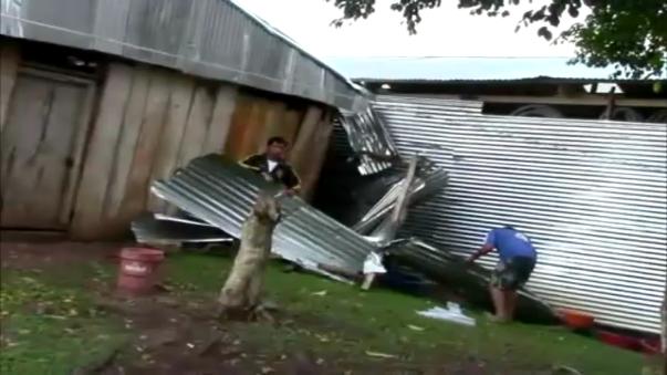Los damnificados han solicitado ayuda para poder reconstruir sus viviendas.