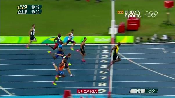 El atleta jamaiquino Usain Bolt ganó su segunda medalla en Río 2016.