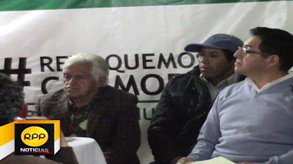 Inician recolección de firmas para revocar a alcalde provincial.