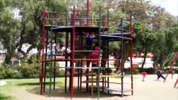 Parques son un peligro para los niños