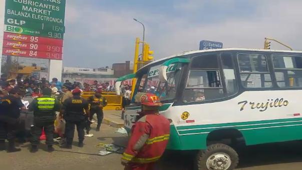 Hasta el lugar del accidente llegó el fiscal de turno para el levantamiento del cuerpo.