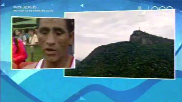 Las declaraciones de Raúl Machacuay ni bien acabó la carrera.