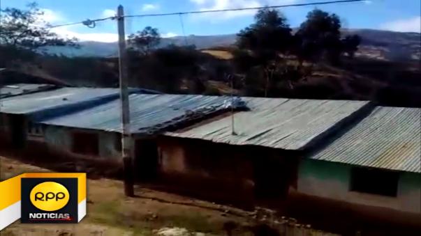 Poblado de Cueva Blanca esta ubicado en la zona más alta del distrito de Incahuasi