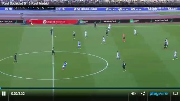 Real Sociedad 0 - 3 Real Madrid (Resumen del partido).