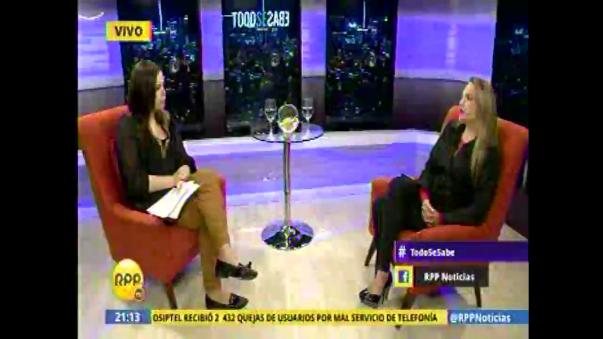 Luciana León descontenta con resultados de la investigación del 'Escuadrón de la Muerte'
