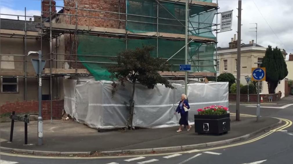 La obra ha desaparecido de su emplazamiento en Cheltenham, una ciudad inglesa del sudoeste a 175 kilómetros de Londres.