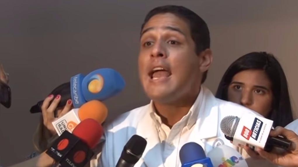 El diputado opositor José Manuel Olivares.