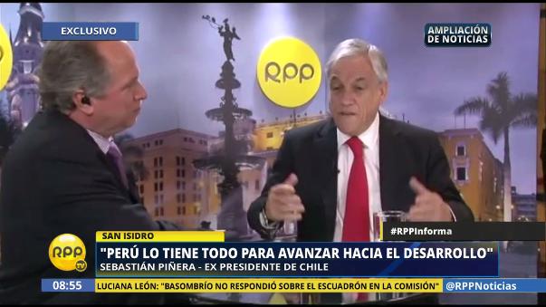 El ex presidente de Chile dijo que su país está perdiendo el rumbo y que cuatro de cada cinco chilenos ahora cree que su país va por mal camino.