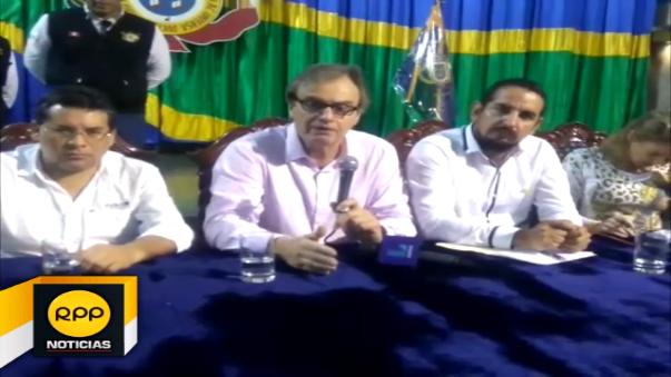 Autoridad ofreció la construcción de dos comisarías, dos en Pampa Grande y otro en Andrés Araujo.