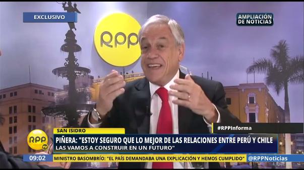 Sebastián Piñera ya había dicho hace algunos años que era descendiente del inca Huayna Cápac, esta vez lo confirmó.