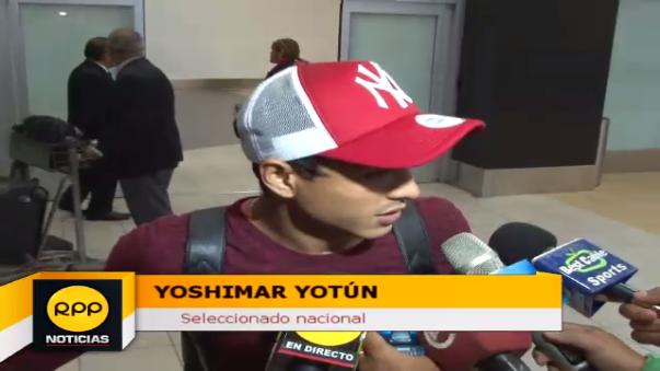 Yoshimar Yotún es el primer jugador que milita en el exterior en llegar para la jornada doble de Eliminatorias.