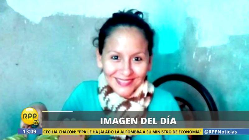 Lady Diaz Ramírez estaba a dos semanas de dar a luz cuando sufrió este ataque.