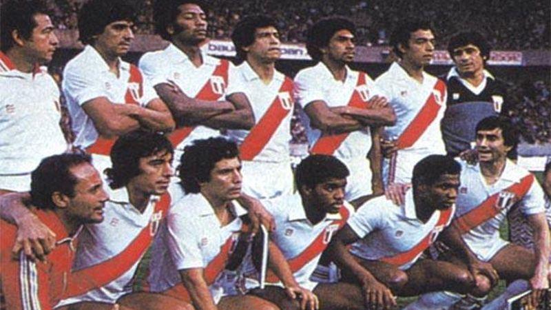 Última clasificación peruana a un mundial