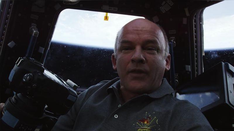Jeff Williams es comandante de la Expedición 48 de la Estación Espacial Internacional.
