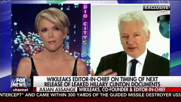 Assange aseguró que las filtraciones saldrán a la luz antes de las elecciones del 8 de noviembre entre Hillary Clinton y Donald Trump.