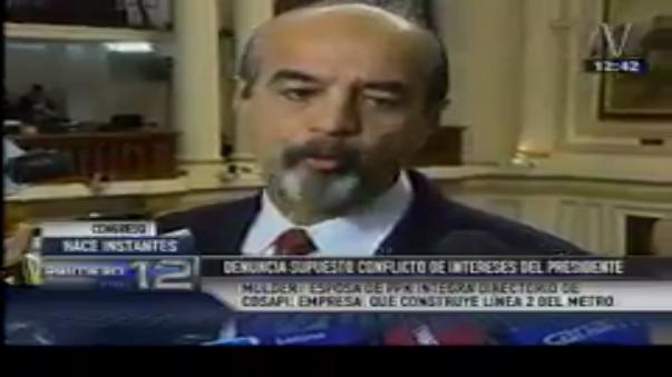 Mauricio Mulder dijo que Nancy Lange es accionista de una empresa que está registrada en Florida, no Delaware.