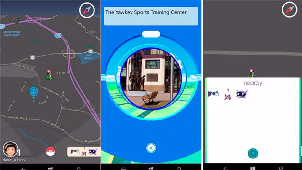 PoGo-UWP, aplicación de Pokémon Go para Windows Phone 045004_230299