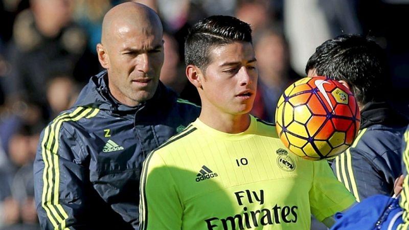 James Rodríguez llegó al Real Madrid en la temporada 2014/2015 procedente del Mónaco de Francia.