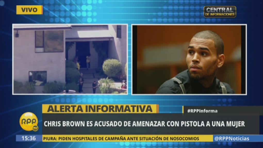 Chris Brown se declaró inocente a través de su cuenta de Instagram.