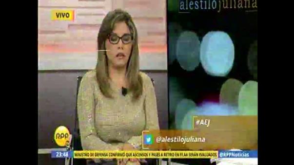 Lady Guillén preocupada por el caso Karla Solf