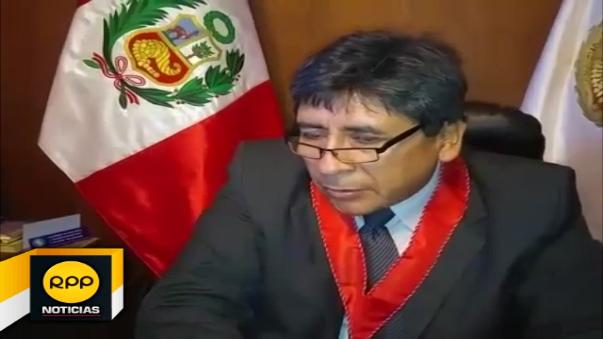 Presidente de la Junta de Fiscales de Arequipa, Hugo Ramos Hurtado habló sobre el caso.