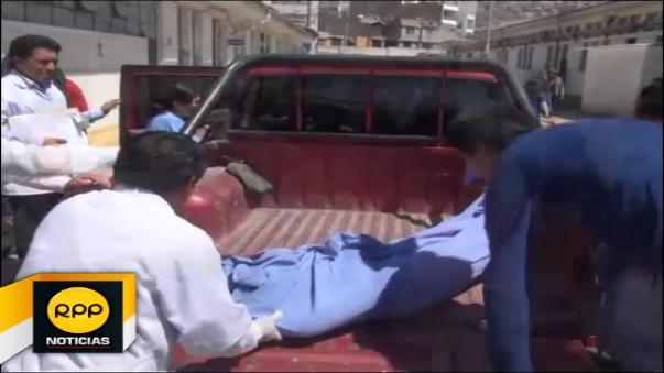 El cuerpo de la víctima aún permanece en la morgue del Ministerio Público.