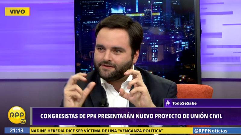 Bancada de Peruanos por el Kambio presentarán nuevo proyecto de Unión Civil