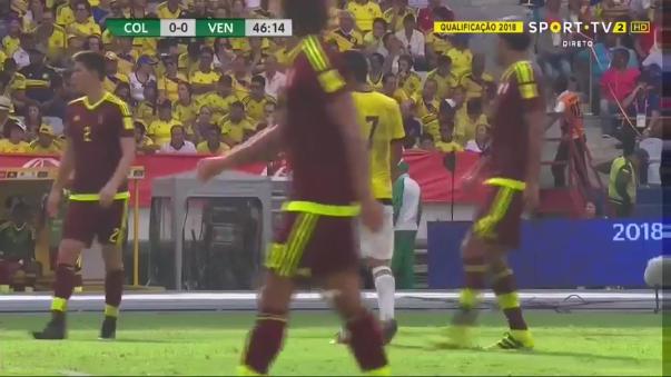 Eliminatorias Rusia 2018: Colombia vs. Venezuela