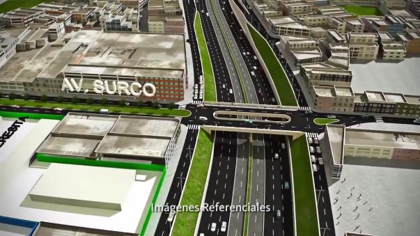 La Vía Expresa Sur unirá el final del actual tramo en Barranco con la Panamericana Sur en San Juan de Miraflores, con más de 4 kilómetros de extensión.