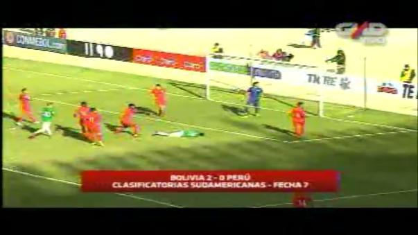 La Selección Peruana se encontró con una dura realidad y la pelota parada mató a La Bicolor en La Paz.