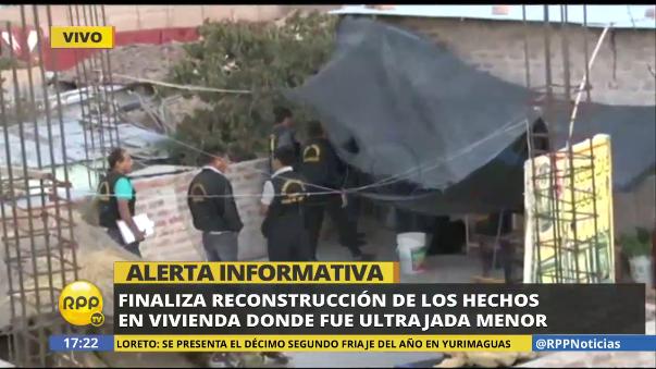 Diligencia en Ayacucho tras muerte de menor violada por seis sujetos