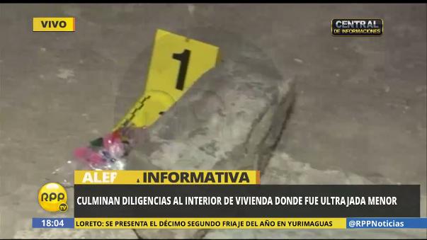 Dilgencia tras violación grupal en Ayacucho