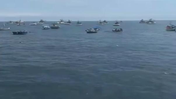 Los pescadores se encuentran en buen estado de salud.