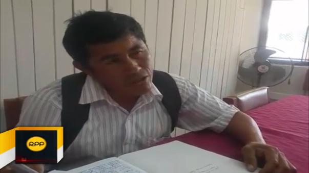 Promotor de revocatoria llegó desde el distrito de Cura Mori para solicitar garantías para su vida y de sus colaboradores.