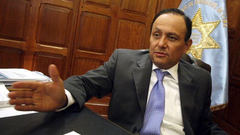Walter Gutierrez fue decano del Colegio de Abogados y presidente del Tribunal de Honor del Pacto Ético electoral.