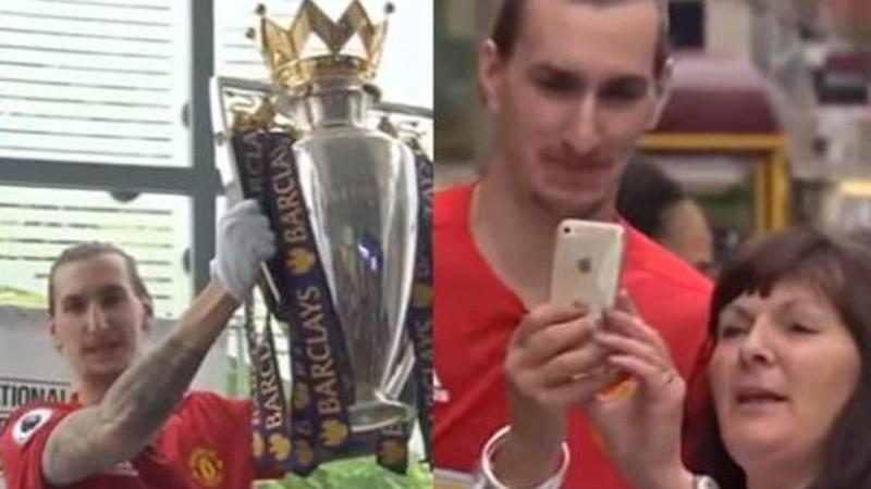 Zlatan Ibrahimovic llegó esta temporada al Manchester United procedente del PSG.