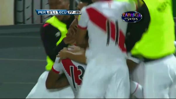 Renato Tapia marcó su primer gol en Eliminatorias y valió un triunfo crucial ante Ecuador.