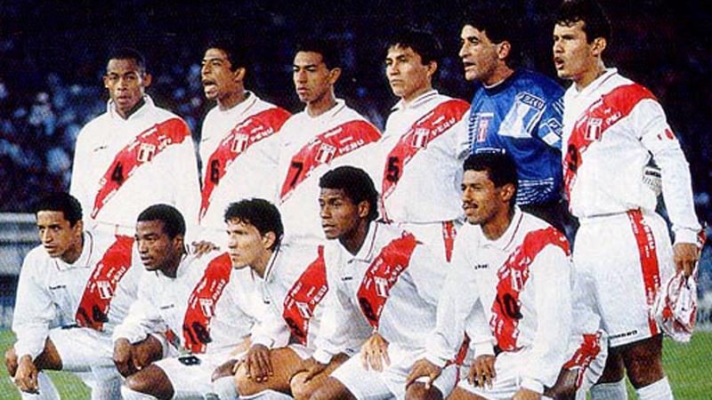 Juan Reynoso era el capitán de aquella selección liderada por Juan Carlos Oblitas.