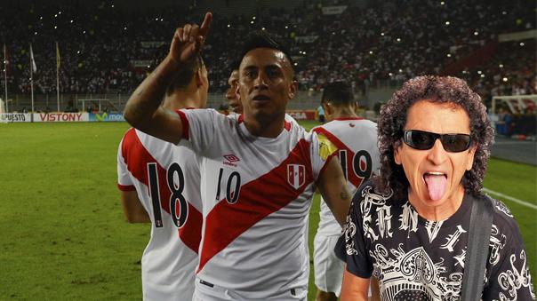 Alex Lora habló de la Selección Peruana en el aeropuerto.
