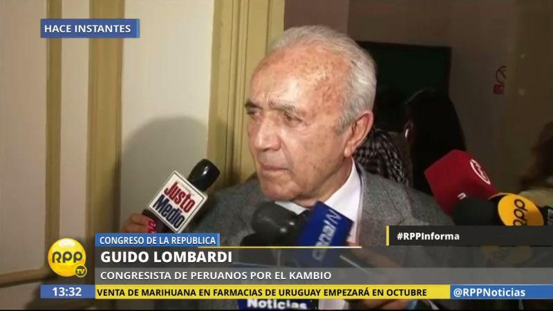 Lombardi respondió a los apristas.