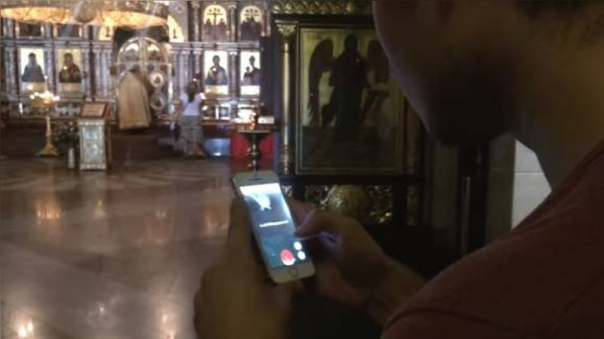 Este es el video que causó el arresto domiciliario contra Ruslán Sokolovski.