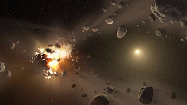 El asteroide Bennu es un cuerpo celeste que orbita nuestro sistema Solar.