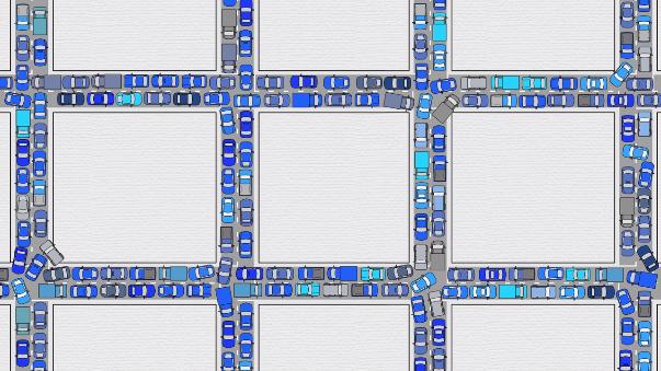 Los autos inteligentes son la solución al tráfico vehicular ya que estos estarán programados para mantener las mismas distancias y acelerar simultáneamente.